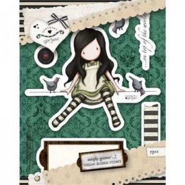 Urban Stamp (7pcs) - Gorjuss - On Top Of The World GOR 907107