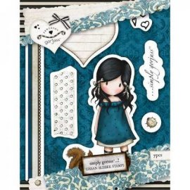 Urban Stamp (7pcs) - Gorjuss - You Brought Me Love GOR 907106