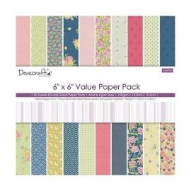 "Value Paper Pad DCDP159 15x15cm (6""x6"")"