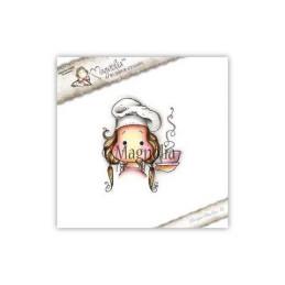 Timbro Magnolia - La vita è una zuppa - WM-16 Life is a Soup Tilda