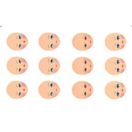 FOMMY DECO' visi ovali 01 cm.12x20 (GDVIO01)