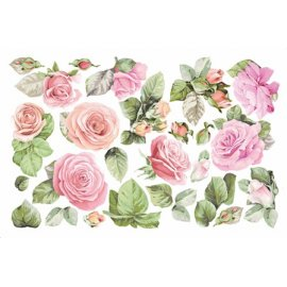FOMMY DECO' tema rose cm20x30 (GDTEM019)