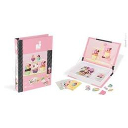 """Libri Magnetici Janod """"Cupcake"""" - 02781 -3-8 anni"""