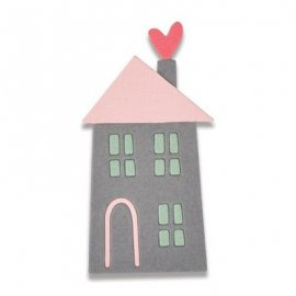 Sizzix Thinlits Die - Home Sweet Home -2 Mini- 661789