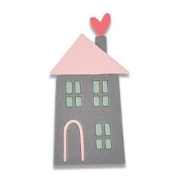 Sizzix Thinlits Die - Home Sweet Home -2 Mini- 661789