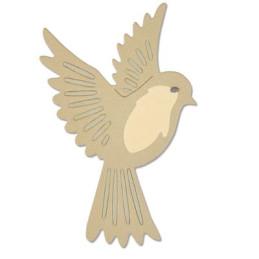 Sizzix Thinlits Die Set 3PK - Natural Bird- 661703- 660826
