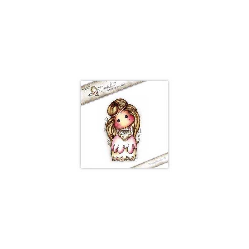 Timbro Magnolia Tilda con il vestito elegante BH-15 Volang Dress Tilda (w)