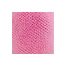 Nastro in tulle, tinta unita - (h) 12,5cm x 50 mt. - Fragola - FRA