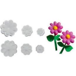 Stampi per moosgummy - Margherita x 3 - 31205 -11cm / 7,5cm / 5,5cm (circa)