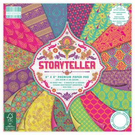 "Carta blocco Scrap - Narratore - Storyteller FEPAD138 - 20x20cm (8"" x 8"") -Trimcraft"