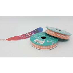 """Creative Ribbons, Rocchetto di Nastro 2m, Rosa salmone con scritte bianche """"HAPPY BIRTHDAY"""""""