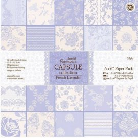 "PMA 160234 6""x6"" Paper Pack (32pk) - French Lavander"