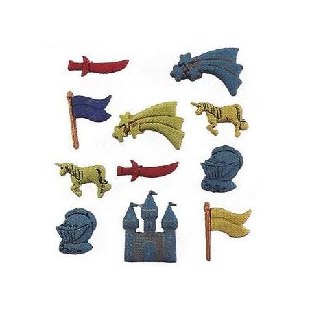 Bottoni decorativi - A Kinghts Life - 335610 - 4302