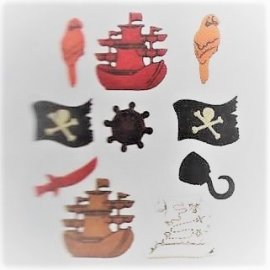 Bottoni decorativi - A Pirates Life - 335610 - 4300