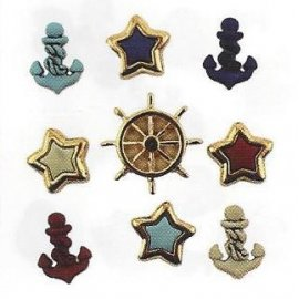 Bottoni decorativi - Anchors Aweigh - 335610 - 4267