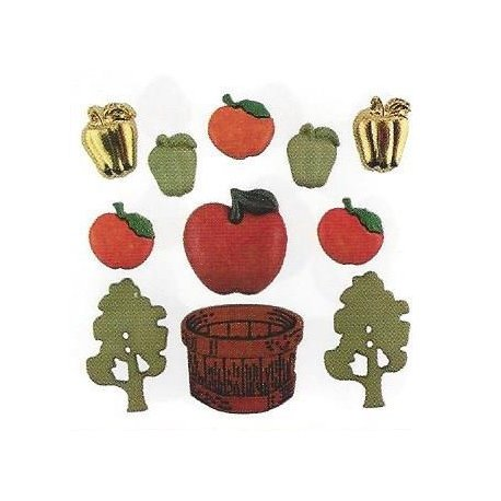 Bottoni decorativi - Apple Orchard - 335610 - 4275