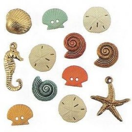 Bottoni decorativi - Beach Treasures - 335610 - 4246
