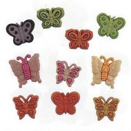 Bottoni decorativi - Butterfly Kisses - 335610 - 4252