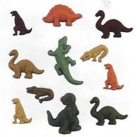 Bottoni decorativi - Dinosaurs - 335610 - 4081