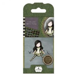 Collectable Rubber Stamp - Santoro - No. 12 On Top Of The World GOR907212