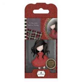 Collectable Rubber Stamp - Santoro - No. 18 Poppy Wood GOR 907318