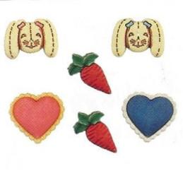 Bottoni decorativi - Bunny...