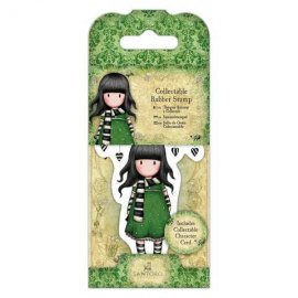 Collectable Rubber Stamp - Santoro - No. 26 The Scarf GOR 907406