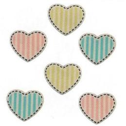 Bottoni decorativi - Heart Medley - 335625 - bz106