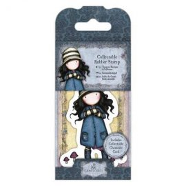 Collectable Rubber Stamp - Santoro - No. 28 Toadstool GOR 907408