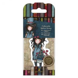 Collectable Rubber Stamp - Santoro - No. 29 The Hatter GOR 907409
