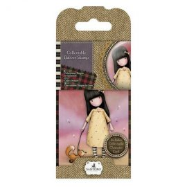 Collectable Rubber Stamp - Santoro - No. 3 The Pretend Friend GOR907303