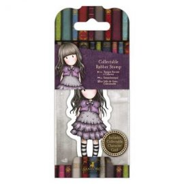 Collectable Rubber Stamp - Santoro - No. 32 Little Violet GOR 907412