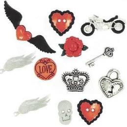 Bottoni decorativi - Angel Heart - 335700 - 5819