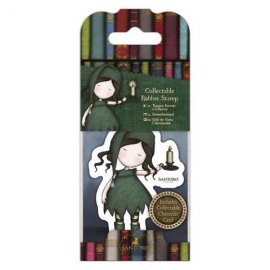 Collectable Rubber Stamp - Santoro - No. 34 Nightlight GOR 907414