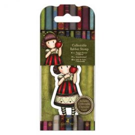 Collectable Rubber Stamp - Santoro - No. 37 Dear Apple GOR 907417