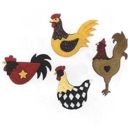 Bottoni decorativi - Hen...