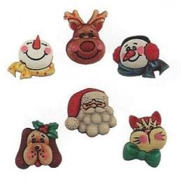 Bottoni decorativi - Santa...