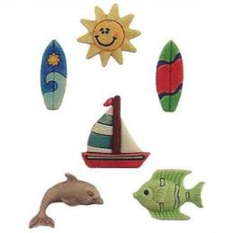 Bottoni decorativi - Surfs...