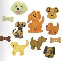 Bottoni decorativi - Dog Days - 335700 - 369