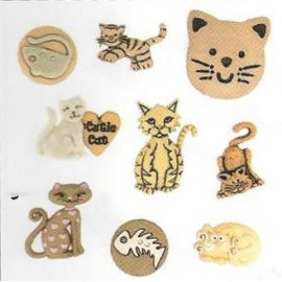 Bottoni decorativi - Feline...