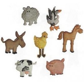 Bottoni decorativi - Funny Farm - 335700 - 4667