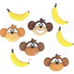 Bottoni decorativi - Monkey...