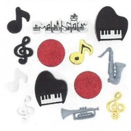 Bottoni decorativi - Music...