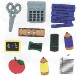 Bottoni decorativi - Pencil...