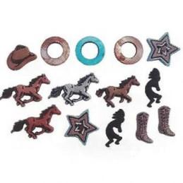 Bottoni decorativi - Saddle...
