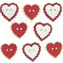 Bottoni decorativi - Heart...