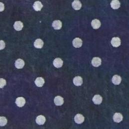 Pannolenci a pois 30x40 cm - 250171 - 33 - Blu Scuro (Pois Bianchi)