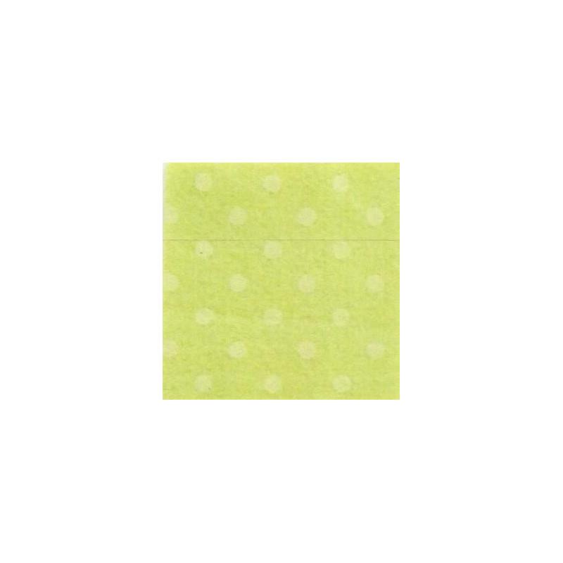 Pannolenci a pois 30x40 cm - 250171 45 Verde Lime (Pois Verdi)