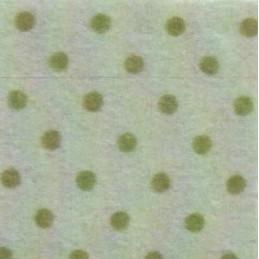 Pannolenci a pois 30x40 cm - 250171 - 46 - Verde Salvia (Pois Verdi)