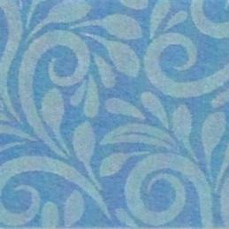 Pannolenci decorato 30x40 cm - 250192 - 49 - Azzurro/Azzurro Pastello